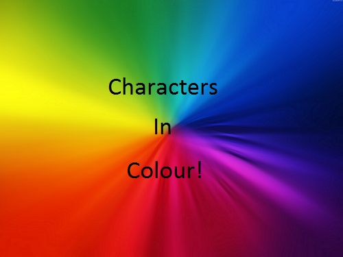 how to add color characters to linkedin