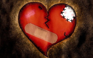 A Broken Heart On Valentine's Day
