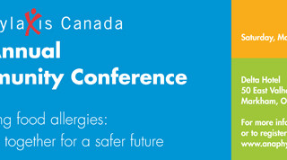 Anaphylaxis Canada's 7th Annual Community Conference