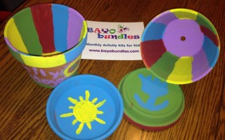 #KidsCraft With @BayoBundles Monthly Activity Kits