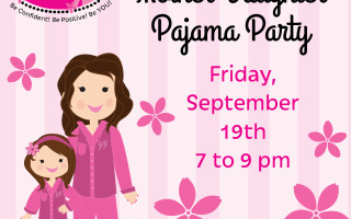 Late Nights & Pillow Fights With Glama Gal Mother Daughter PJ Party!
