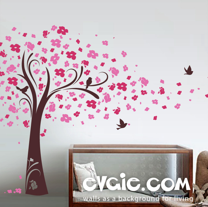 evgie wall decal