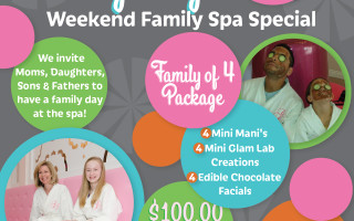 'Family Day' Fun For The Whole Family – At Glama Gal Tween Spa!!