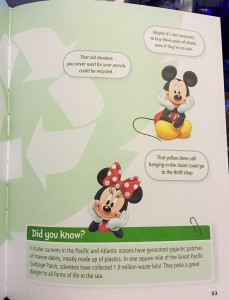 Disney Go Green