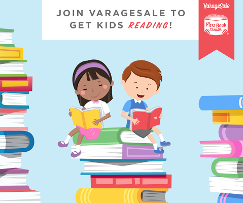 First Book Canada Gets a Little Help From VarageSale