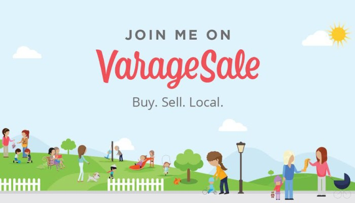 VarageSale – The Fun & Safe Way To Buy & Sell Online