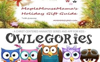 Owlegories: A Gospel-Based Series & App For Kids!  #Giveaway #MMMGiftGuide Open to CAN/US