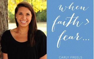 When Faith > Fear – Getting To Know Author & Cancer Survivor, Carly Freels