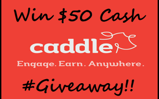 Canadians Captivated With Caddle, The Cash Back App For You! #Giveaway CAN 7/29