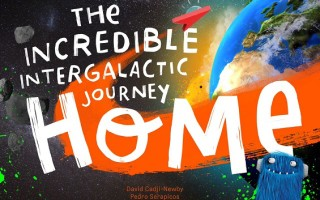 Win'The Incredible Intergalactic Journey Home' Personalized Book #Giveaway CAN 8/16 #BloggersFete