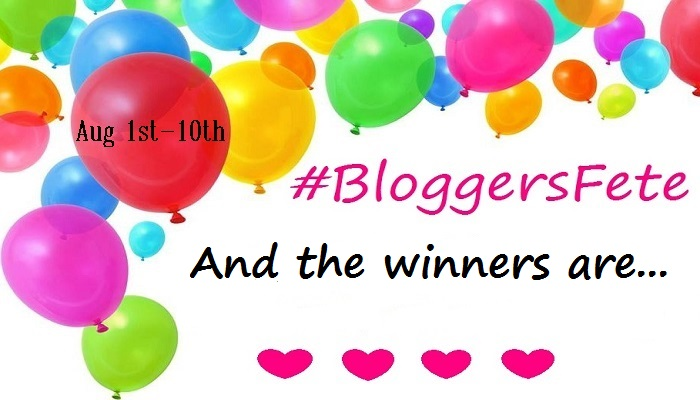 Drum Roll Please!! Announcing The 2016 #BloggersFete #Giveaway Winners!