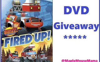 "Enter To #Win ""Blaze and the Monster Machines: Fired Up!"" DVD #Giveaway 9/7"