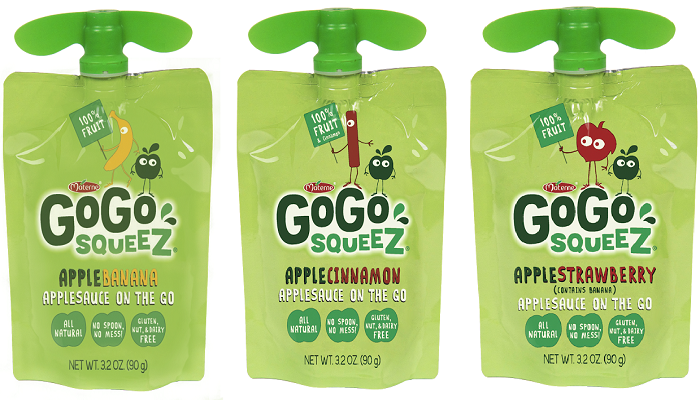 disney, gogo squeez, food allergies
