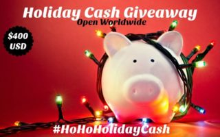 It's The #HoHoHolidayCash #Giveaway! You Could #Win $400US! Open WW 11/28