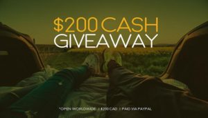 cash giveaway worldwide