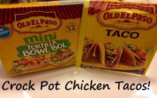 Creating New Traditions and Recipes With #OldElPaso #LetsTacoBoutIt – Crock Pot Chicken Tacos!
