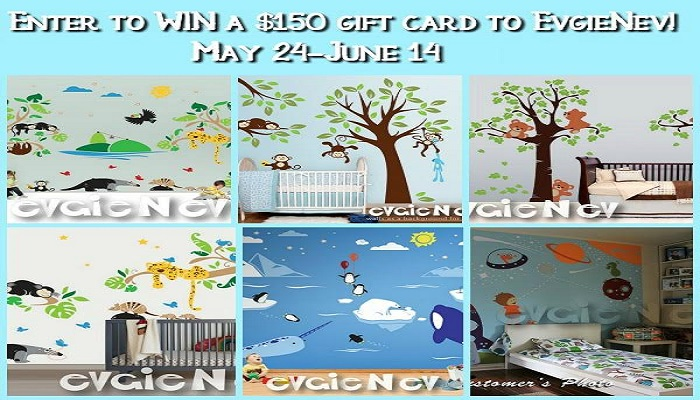 Make Decorating Easy With An @Evgie $150 #Giveaway! Open WorldWide!