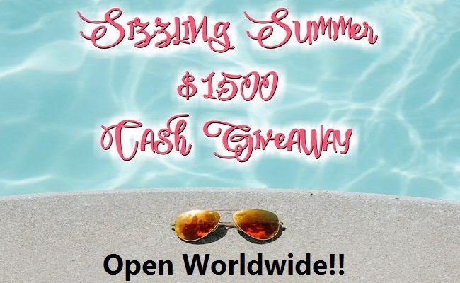 Spend Summer Spending A Huge Cash Prize!! $1500 PayPal #Giveaway! Open WorldWide!