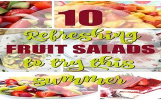Ten Refreshing Fruit Salads To Try Out This Summer #Recipe