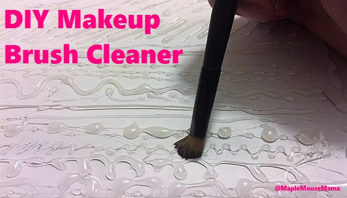 #DIY Makeup Brush Cleaner
