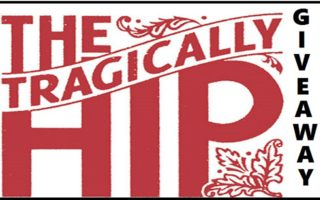 Iconic Canadian Band 'The Tragically Hip' Book #Giveaway Open to CAN/US