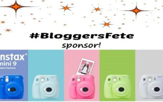 It's A #BloggersFete #Giveaway From FUJIFILM! #MyInstax Mini 9 Instant Camera!