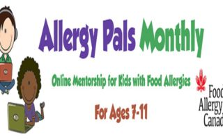 Food Allergy Canada Launches Monthly Allergy Pals Webinars For Kids!