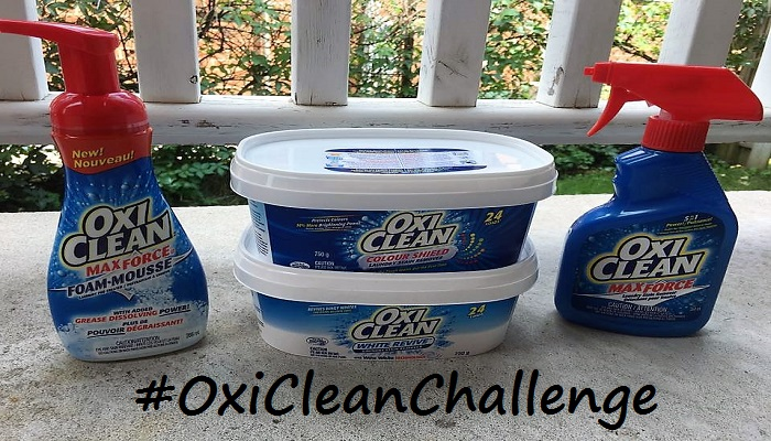 Take The Power Of OxiClean Challenge And #Win! #OxiCleanChallenge #Giveaway
