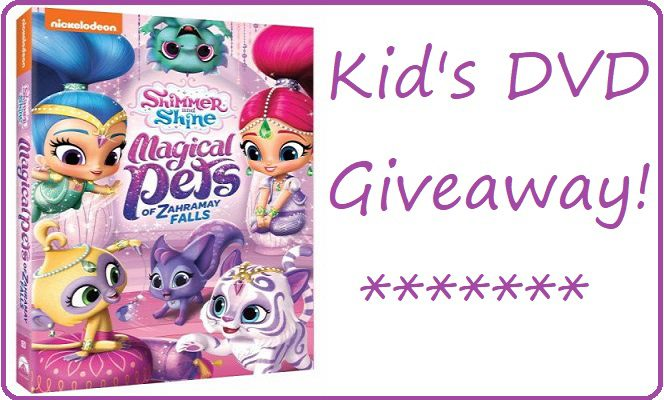 Shimmer and Shine Magical Pets of Zahramay Falls DVD #Giveaway