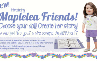 Maplelea Friend Zoey's Curtain Call