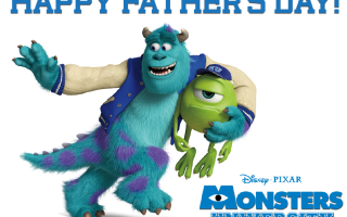 Father's Day and Monsters U!