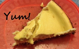 Easy Peasy Cheesy Cheesecake! #Recipe