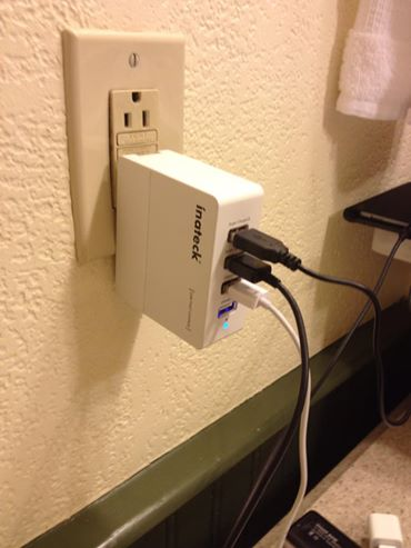 inateck usb wall charger