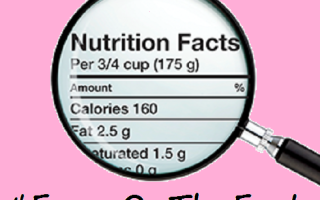 Learning How To #FocusOnTheFacts For Better Nutrition