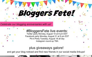 Save The Date! August Brings a Huge #BloggersFete '15 With Giveaways Galore!!