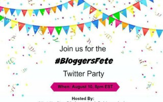 It's Time to RSVP for the #BloggersFete 2015 Twitter Party!!