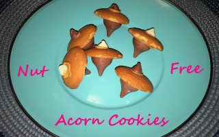 Nut Free Acorn Cookies With Wowbutter – Fun For Fall!