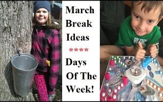 march break ideas