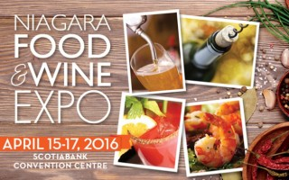 Niagara Food & Wine Expo #Giveaway! CAN, ends 4/9