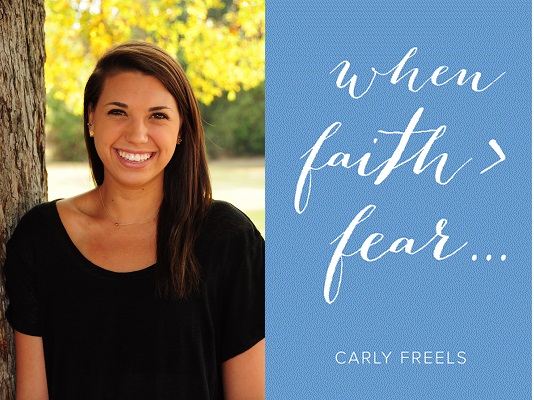 when faith > fear