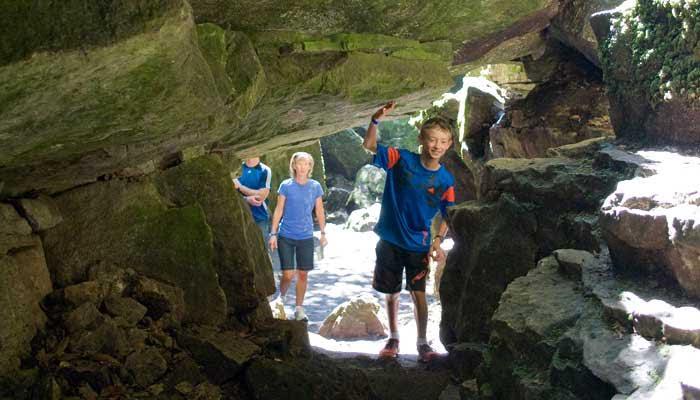 scenic caves nature adventures