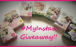 Summertime Fun With Cool New Designer Film For The Instax Mini! #Giveaway #FujiMoms #MyInstax