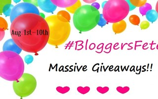It's A #BloggersFete 2016 #Giveaway With Three Fabulous Prize Packs! CAN 8/10