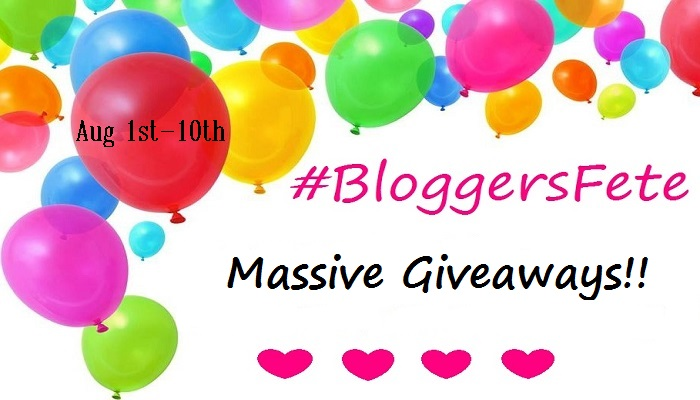 bloggersfete giveaway