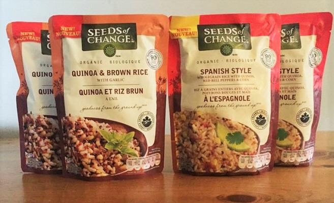 organic rice dish