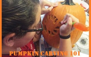 How To Carve A Pumpkin With The Kiddos! #Halloween