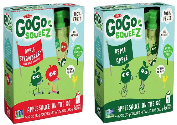 gogo squeez, disney, food allergies