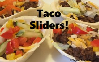 Tasty Taco Sliders #Recipe Will Make Entertaining Easy With #OldElPaso #LetsTacoBoutIt