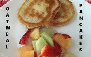Oatmeal Pancakes – A New Family Favourite #Recipe