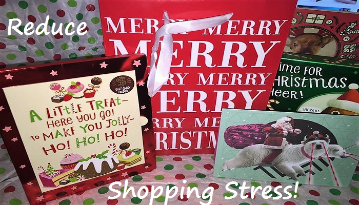 reduce shopping stress